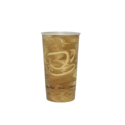 SOLO X20N-0029 Trophy Plus Polystyrene Foam Hot and Cold Cup, 20 oz. Capacity, Mistique (Case of 750)