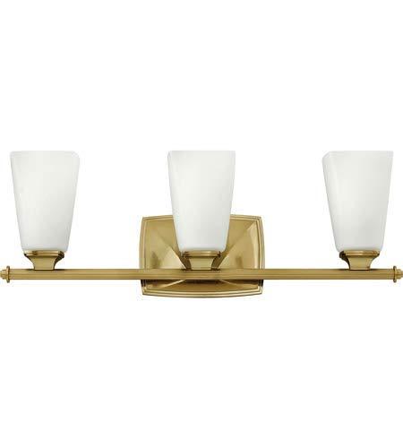 Bathroom Vanity 3 Light Fixtures with Brushed Caramel Finish Metal Material Medium 23