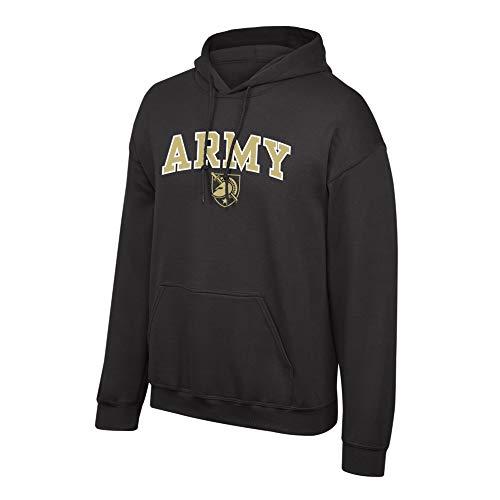Elite Fan Shop NCAA Men's Army Black Knights Hoodie Sweatshirt Team Color Arch Army Black Knights Black XX Large ()