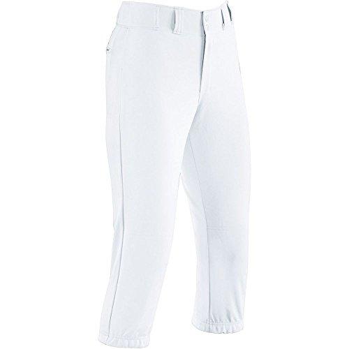 High Five Girls' Prostyle Low-Rise Softball Pant-Girls',White,Large - Low Rise Pro Pant