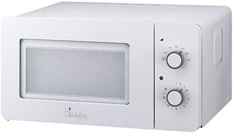 bkitchen Mini 150 – Microonde Compatto con Funzione scongelamento e Diamond Cavity per Un Riscaldamento Uniforme