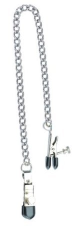Adjustable Broad Tip Clamps with Loop -Link Chain by Spartacus