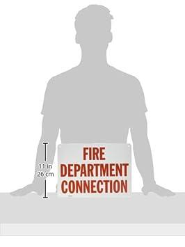 12 x 18 Aluminum SmartSign/Fire Department Connection Sign