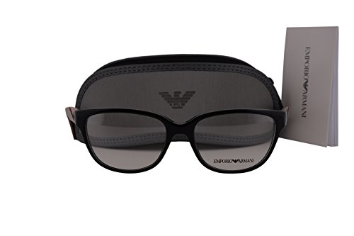 Emporio Armani EA3081 Eyeglasses 52-16-140 Shiny Black 5017 EA - Emporio Arman
