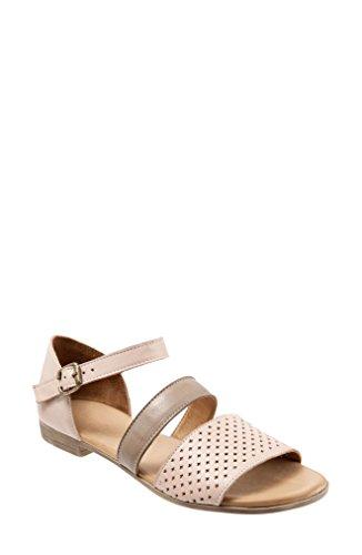 害虫避けられない典型的な[ブエノ] レディース サンダル BUENO Janet Perforated Flat Sandal (Wome [並行輸入品]