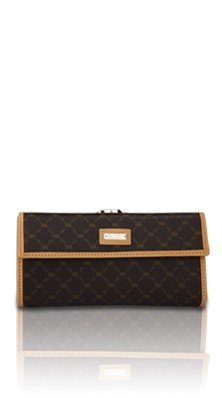 Rioni Signature Continental Leather Clasp Wallet Reg (Rioni Purses)