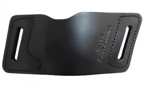 Versa Carry Quick Slide Leather Belt Slide Holster, Fits Most Single Stack Semi-Automatic Pistols with Lasers, Right Han Automatic Stack