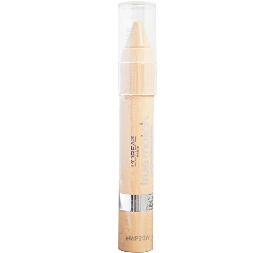 Neutralizing Crayon - L'Oreal Paris True Match Super-Blendable Crayon Concealer, Light/Medium Neutral 0.10 oz (Pack of 2)