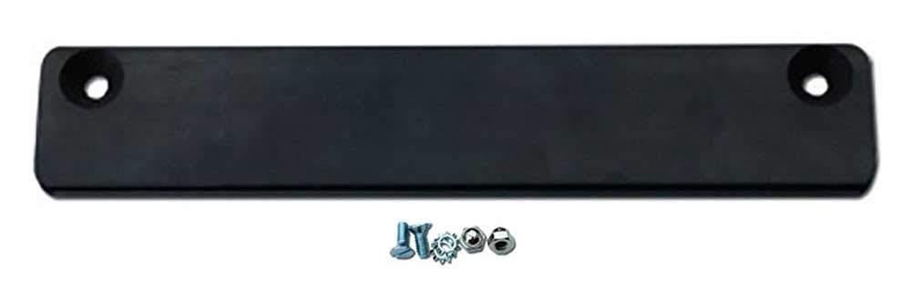 Donkey Auto Products 4855 1 Bar /& Hardware Premium Rubber Coated Bar Magnet Demo License Plate Holder