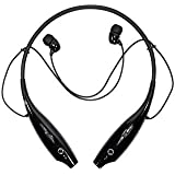 SYSTEM BREAKER® 7-3-0 Sports Wireless Bluetooth Headphones with Mic, Extra Bass & Noise Reduction, Hands-Free Calling Compatible with All Android, iOS & Windows Device
