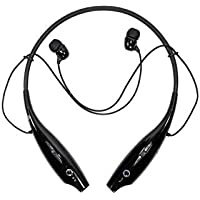 SYSTEM BREAKER® HBS-730 Neckband Bluetooth Headphones Earphone Wireless Headset with Mic for All Smartphones(Black)