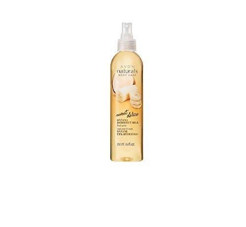Avon Naturals Banana & Coconut Milk Body Spray 8.4 fl oz