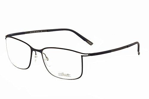 6056 Eyeglasses (Silhouette Eyeglasses Titan Contour 5438 6056 Blue Optical Frame 53x18x135mm)