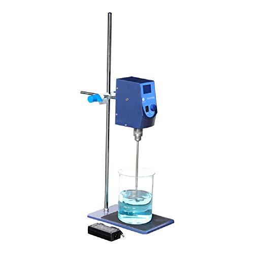Lab Overhead Stirrer Digital Electric Mixer Agitator Stirring Capacity 20L 100~2500rpm 100~240V (Laboratory Agitator)