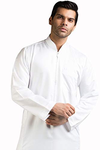 a7761213 Kamani Ehsaan Mens Thobe/Kaftan Kamani-Islamic Clothing Jubba for Men-Muslim  Thobes