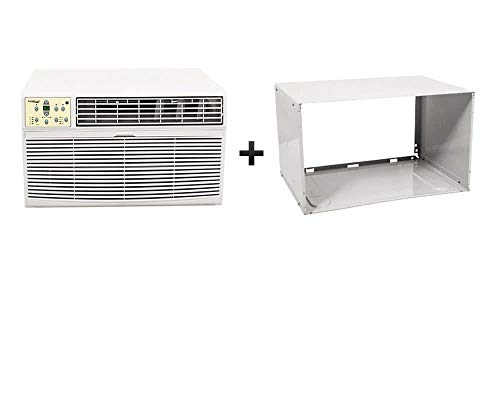 (Koldfront WTC8001WSLV 8,000 BTU Through The Wall Air Conditioner with 4200 BTU Heater)