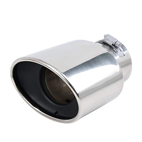 For Car Silencer Steel 2012 Stainless Muffler Silver Pipe Map Exhaust Tail Sourcing Crv Tone A35L4Rjq