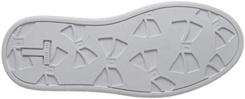 Chunky sole trainers arellia white