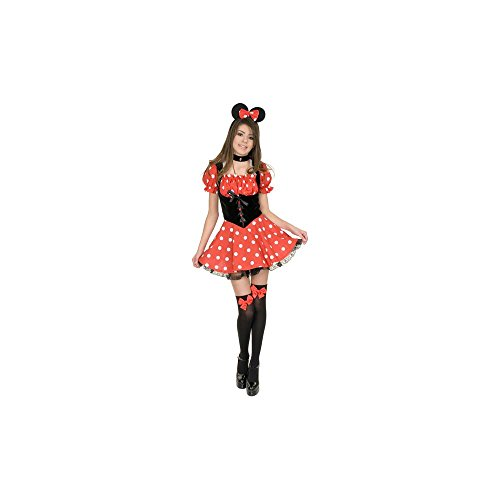 Sexy Little Miss Mouse Minnie Adult Costume