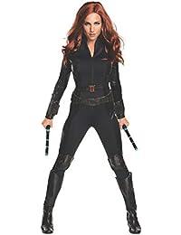 Women's Captain America: Civil War Black Widow Costume, As Shown