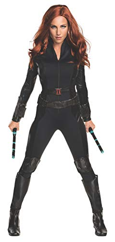 Womens Black Widow Costume (Rubie's Costume Co Women's Captain America: Civil War Widow Costume, Black,)