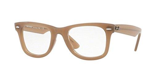 Ray-Ban RX4340V Wayfarer Eyeglasses Beige - Frames Eyeglasses Ray Ban Wayfarer