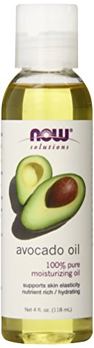 Now Foods Avocado Oil, Moisturizing 4 oz. (Edible)