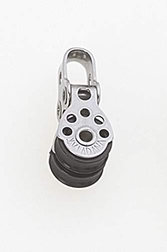 Viadana Stainless Steel Micro Blocks (17mm, Double)