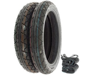 Tires Tubes and Rim Strips IRC GS-11 Tire Set Compatible with Honda CL350K CB450K 70-74 CL450K CB500K