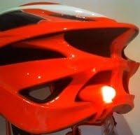 Helmet Light Sport Direct Bicycle Bike Cycle Mega MiniTM TWIN Silicone 2x2 LED Light Set White