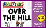 "Inflatable Letters Infletters Boxed Set ""OVER THE HILL"""