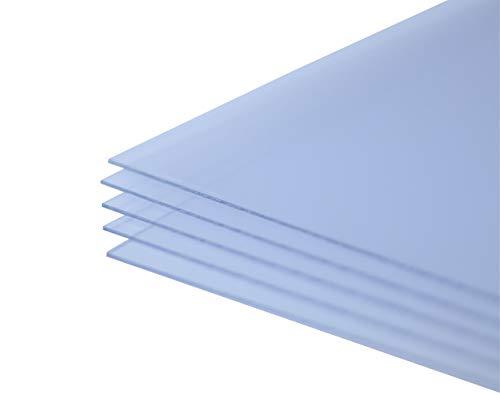 US Art Frames. Ten Sheets 8x10 PETG Polystyrene Ten Sheets Thermforming UV Protection - Set of - 10