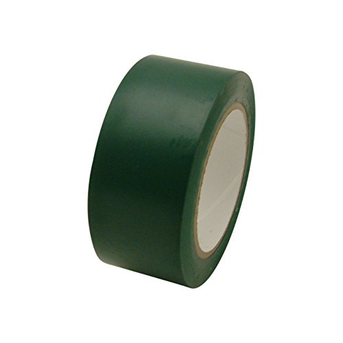 JVCC V-36P Premium Colored Vinyl Tape: 2 in. x 36 yds. (Dark Emerald Green)