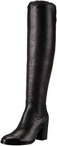 Donald J Pliner Women's Seia-01 Engineer Boot, Black, 8 M US by Donald J Pliner