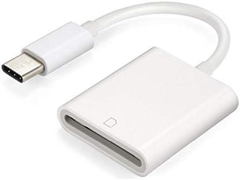 Adaptador de c/ámara USB C tipo C para Macbook Pro tel/éfono inteligente y tableta Xiaomi Huawei Android Samsung Galaxy S8 no se necesita aplicaci/ón