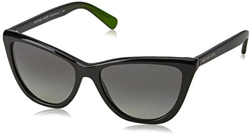 Michael Kors MK2040 321611 Black Divya Cats Eyes Sunglasses Lens Category 3 - Black Sunglasses Kors Michael