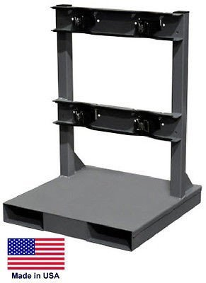 Streamline Industrial CYLINDER STAND PALLET for LP Propane Welding Gases Compressed Air - 2 Tank Cap