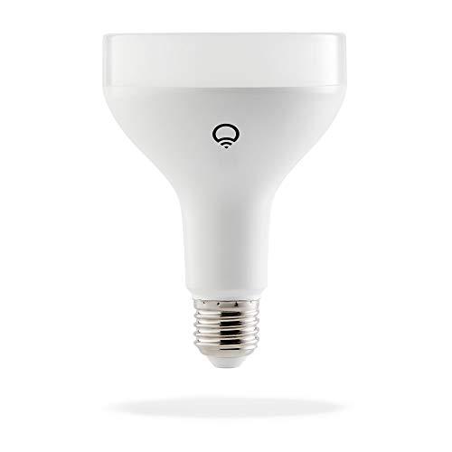 lifx br30 wi fi smart led light bulb adjustable multicolor dimmable no hub required works. Black Bedroom Furniture Sets. Home Design Ideas
