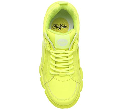 Sneakers Yellow Buffalo Neon Corin Basses Femme 5X6xFH7qwx