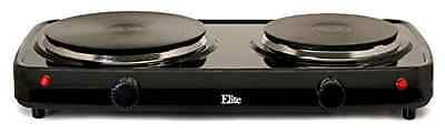 Cooktops Double Buffet Burner Stove Electric Hot Cooking Portable Kitchen Outdoor Camping Electric Kitchen Stove by Electric Stoves