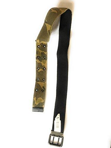 Aeropostale belts woven adjustable medium camo/black reversable
