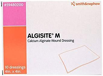Smith and Nephew 59480200 Algisite M Calcium Alginate Dressings 4