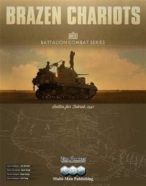 MMP: Brazen Chariots, Battles for Tobruk 1941, Boardgame