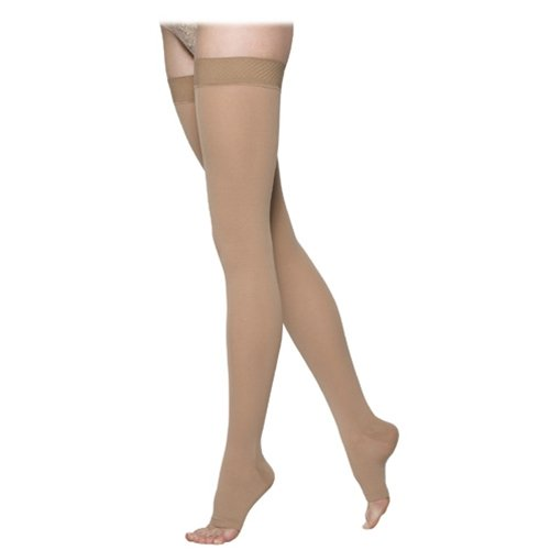 Sigvaris Select Comfort OT Thigh High Compression Stockings 30-40 mmHg - Large Size 2 - Crispa - 863NS1O66863NL2O66 by SIGVARIS