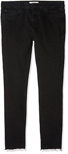 Look 1 New Skinny Celine Jeans Fray Donna black Nero Hem Pqzqxw4dU