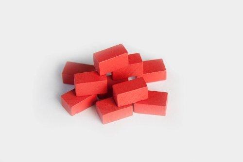 Mayday Games 10 Brick Clay Token Set