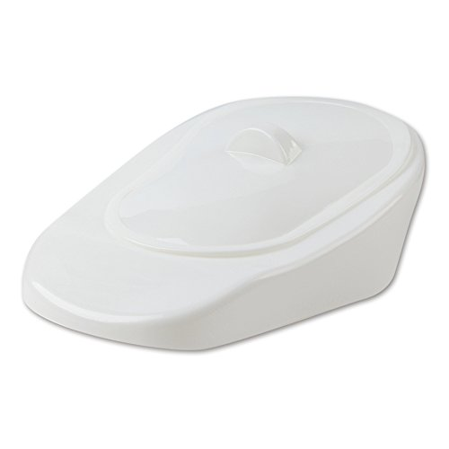 (XIHAA Portable Bedpan, Medical and Home The Patient Lies in Bed and Urinate, for Suitable for Bedridden Patients Pregnant Woman and Old Man(White))