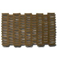 Interwoven Link - T.W Evans Cordage TLM-006 Tire Link Mats, 18-1/2-Inch x 28-Inch