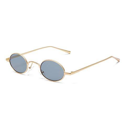 KOKMO-TYJ Retro Polarized Sunglasses for Classic Trendy Stylish Sunglasses for Men Women 639% UV Protection,Gold Frame Gray