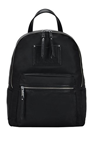 MMS Design Studio Rachel Backpack: Black - Taupe BGS-48326
